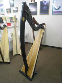 Preowned Troubadour VI Lever Harp (Ebony) 5 years old  (Sold)