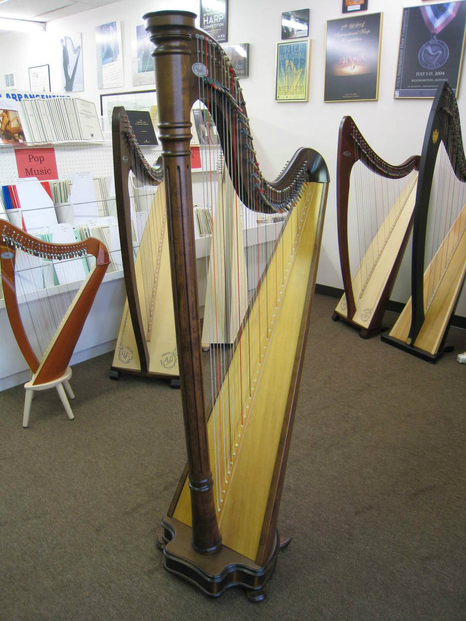 Used Salvi Ana Lever Harp Collection of 2!