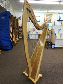Preowned Troubadour IV Lever Harp (Natural)  Now on Sale! $250 off - SOLD AUG 2018
