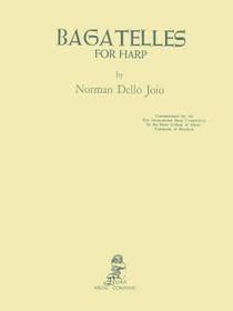 Joio: Bagatelles for harp (Digital Download)