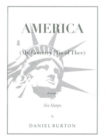 Burton, Daniel: America (for six harps)