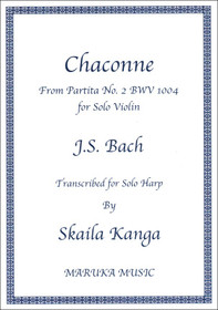 Bach/Kanga: Chaconne From Partita No. 2 BWV 1004 for Solo Violin