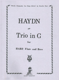 Haydn/Pratt: Trio in G for Harp, Flute and Bass
