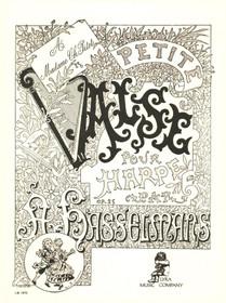 Hasselmans: Petite Valse pour Harpe