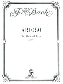 Bach, J.S./Owens: Arioso for Flute and Harp