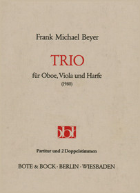 Beyer: Trio fur Oboe, Viola, und Harfe