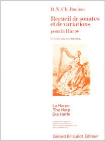Bochsa/Michel: Recueil de sonates et de variations pour la Harpe