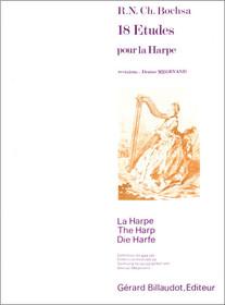 Bochsa/Megevand: 18 Etudes pour la Harpe