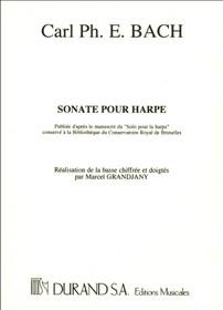 Bach, CPE/Grandjany: Sonate pour Harpe