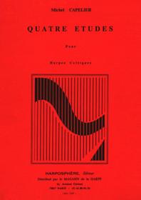 Capelier: Quatre etudes pour harpes celtiques