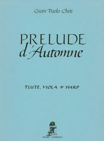 Chiti: Prelude d'Automne for flute, viola & harp