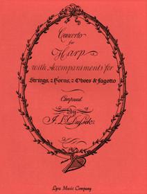 Dussek/Owens: Concerto for Harp (Piano Reduction)