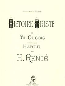 Dubois/Renie: Histoire Triste