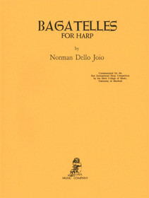 Joio: Bagatelles for Harp