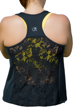 Christine Racer Back (Black)