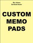 MEMO PADS, NOTEPADS, SCRATCH PADS! 24 Custom Personalized - $14.95