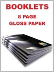 Booklets - 8 page gloss