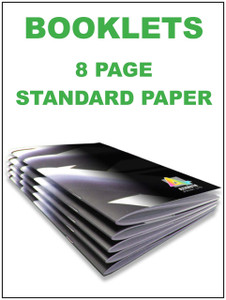 Booklets - 8 page standard