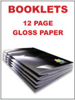 Booklets / Programs - 12 page Gloss from $1.39 each