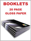 Booklets / Programs - 20 page Gloss from $2.06 each