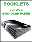 Booklets / Programs - 32 page Standard from $2.58 each