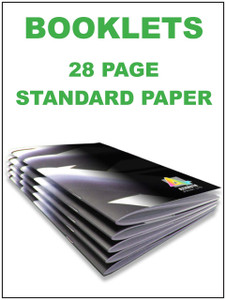 Booklet 28 page standard
