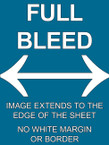 FULL BLEED - from $8.00