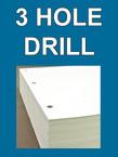 Drill - 3 hole