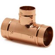 22mm x 22mm x 15mm Reduced Branch Tee SOLDER RING