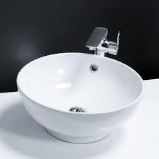 420mm Diameter Round Counter Top Basin