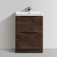 600mm Bali Chestnut Free Standing Cabinet & Basin