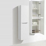 Bali White Ash Wall Mounted Storage Cabinet