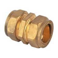 35mm Compression Straight Coupler