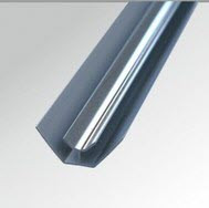 8mm Internal Corner Chrome
