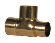 28mm x 15mm x 28mm REDUCER TEE END FEED