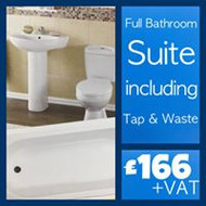 Bath Suite (Including Tap & Waste)