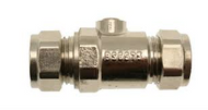 22mm Full Bore Isolating Valve C x C Chrome