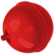"4½"" Plastic Floats Round"