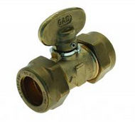 22mm Compression Iso Gas Cock