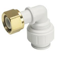 "15mm x 1/2"" Bent Tap Connector"