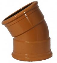 30° Underground Double Socket Bend