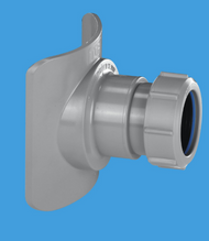 BOSSCONN 110 -GR Grey Mechanical Soil Pipe Boss Connector