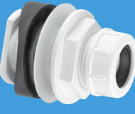 BOSSCONN - 22mm Mechanical Soil and Rainwater Pipe Boss Connector