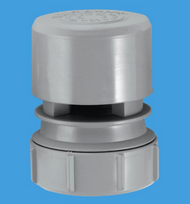 """VP2 Ventapipe 25 Air Admittance Valve with 1½"""" Universal Outlet (grey)"""