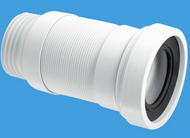 WCF18S Straight Flexible WC Connector 100 > 160mm