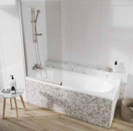 Scudo i6 Aqua Arm Bath Screen Single Panel