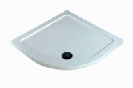 1000mm x 1000mm x 40mm Quad Shower Tray