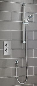 Round Thermostatic Shower Set Two