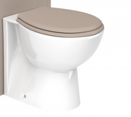 Dartmouth Soft Soft Closing Toilet Seat - stone grey ash