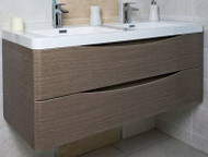 1200mm Envy Wall Mounted Vanity Unit - grey elm